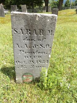 Sarah M Preston