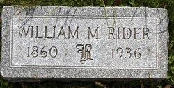 William M. Rider