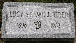 Lucy <I>Stillwell</I> Rider
