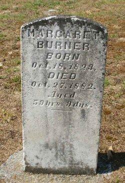 Margaret <I>McInturff</I> Burner