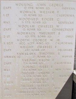 Capt Charles Frances Wright