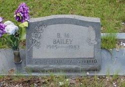 B. M. Bailey