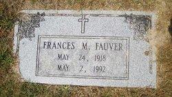 Frances M <I>McAboy</I> Fauver
