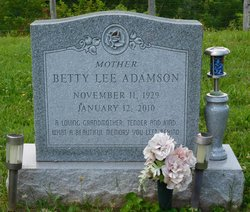 Betty Lee Adamson