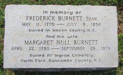 """Margaret """"Peggy"""" <I>Null</I> Burnett"""