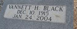 Vannett H Black