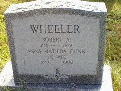 Anna Matilda <I>Gunn</I> Wheeler