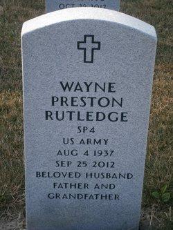 Wayne Preston Rutledge
