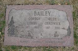 Ruth <I>Chadwick</I> Bailey