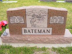 Irma Faye <I>Brown</I> Bateman