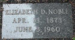 Elizabeth D. Noble
