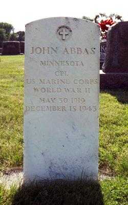 CPL John Abbas