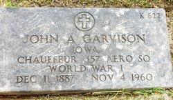 John A Garvison