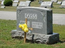 Fannie Gertrude <I>Rininger</I> Goss