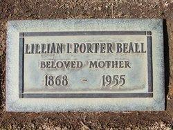 Lillian Isabel Porter <I>Porter</I> Beall