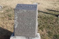 Nancy Catherine <I>Simmons</I> Rickman