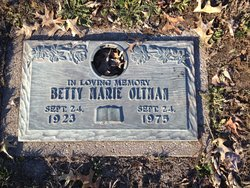 Betty Marie <I>Smith</I> Oltman