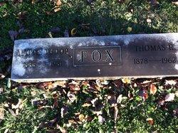Mattie <I>Tudor</I> Fox