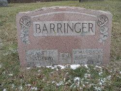 Jeannette <I>Hathaway</I> Barringer