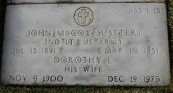 2LT John Mccoy Slattery