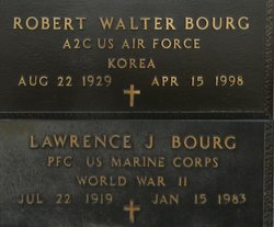 PFC Lawrence J. Bourg