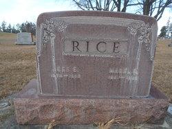 Mabel Marie <I>McGraw</I> Rice
