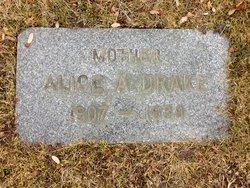 Alice A <I>Bradstreet</I> Drake