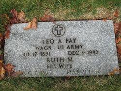 Ruth M Fay