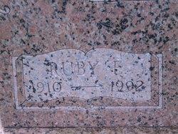 Ruby E. <I>Malicoat</I> Davis