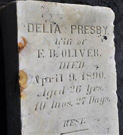 Delia Presby <I>Shattuck</I> Oliver