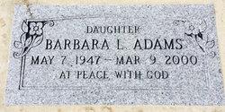 Barbara Lynn Adams