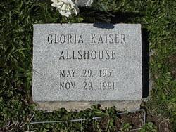 Gloria <I>Kaiser</I> Allshouse