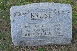 "Caroline ""Carrie"" <I>Crozier</I> Kruse"