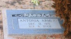 """Antonia """"Toni"""" <I>Griego</I> Armijo"""