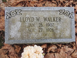 Lloyd W Walker