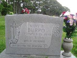 Mary B <I>Green</I> Burpo