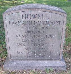 Annis <I>Stockton</I> Howell