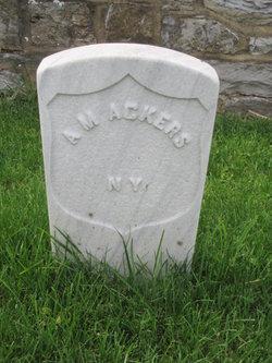 Pvt Albert Mortimer Acker