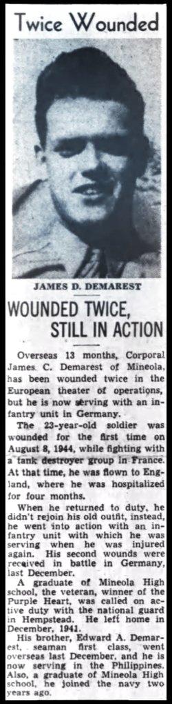 James D Demarest