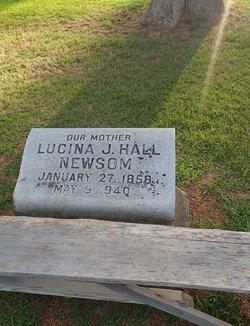 Lucinda Jane <I>Hall</I> Newsom