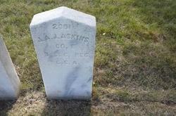 Pvt James A. J. Askins