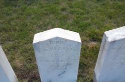 Pvt Franklin A. Blanton