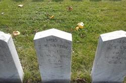 Pvt James W. Barton