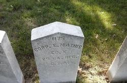 Corp Edmond W. Mathis