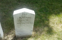 Pvt James R. Adams