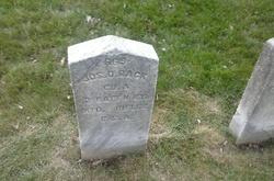 Pvt Joseph D. Back