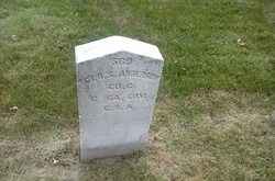 Sgt Benjamin S Anderson
