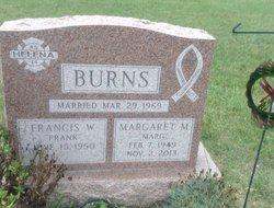 Margaret M <I>LaForce</I> Burns