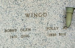 Polly Jo <I>Butterworth</I> Wingo