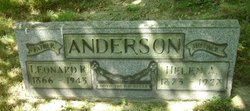 Helen Amelia <I>Bonnett</I> Anderson